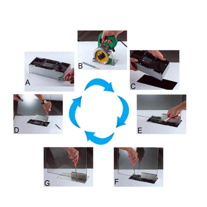 RONGYAO-High Quality Heavy Duty Adjust Hydraulic Floor Hingedoor Closerfloor-9