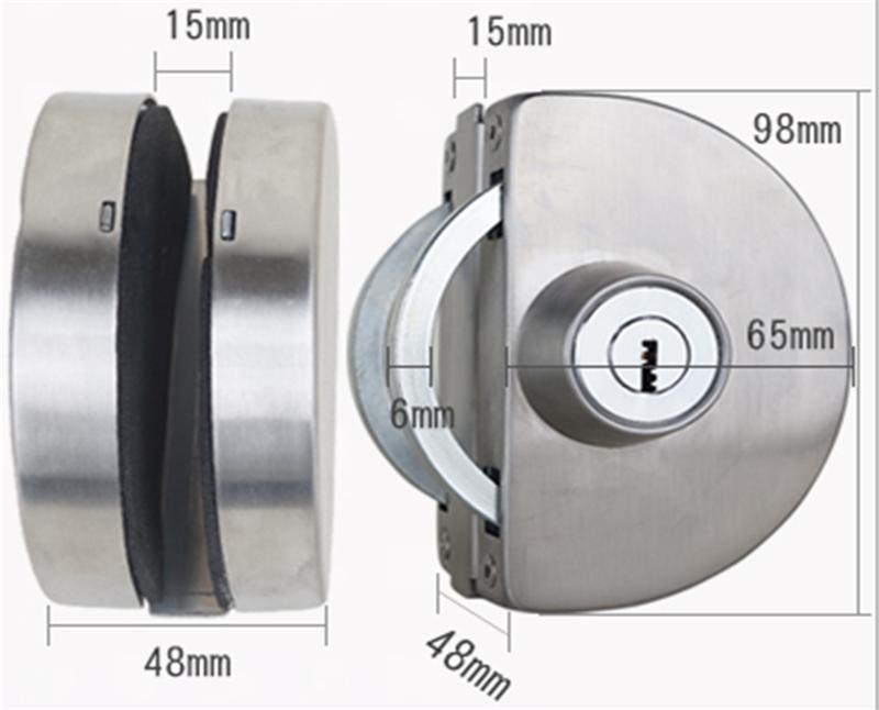 RONGYAO-Find Glass Door Locks Sliding Glass Door Handle With Lock-11