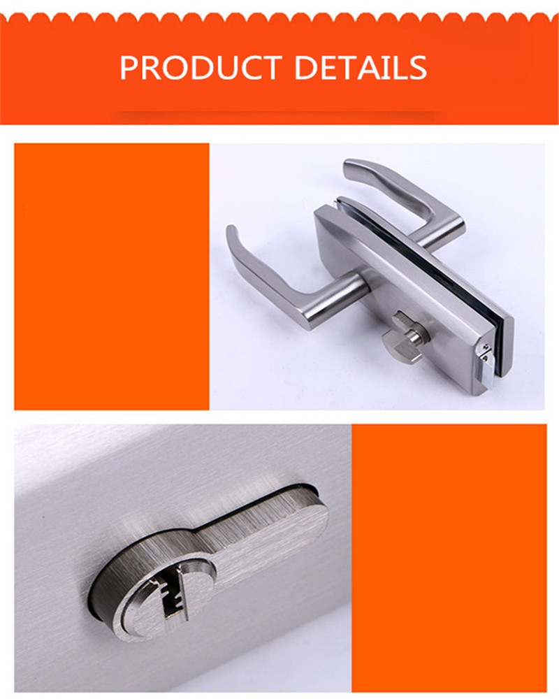 RONGYAO-Sliding Glass Door Lock Bar | Double Side Glass Door Locks-1