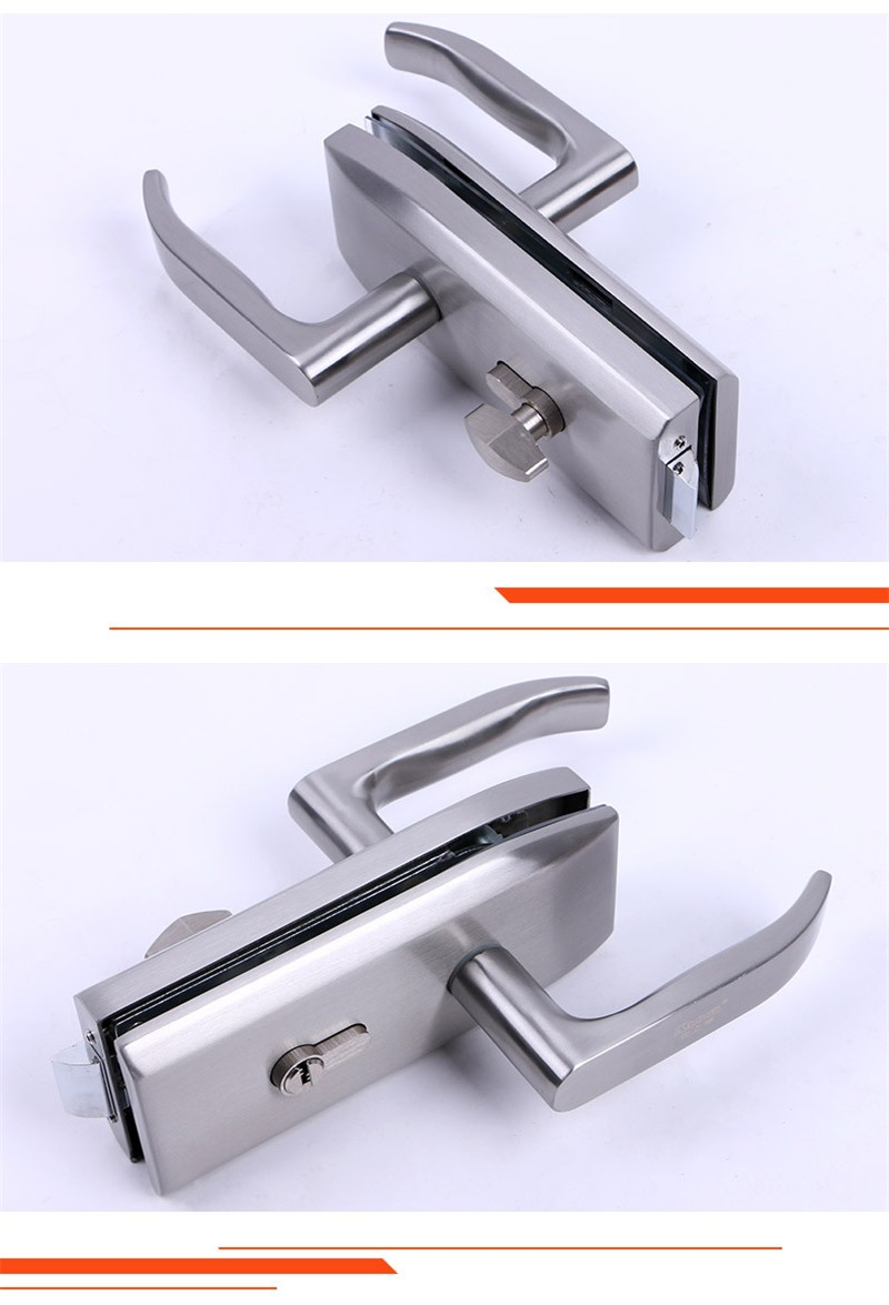 RONGYAO-Sliding Glass Door Lock Bar | Double Side Glass Door Locks-5