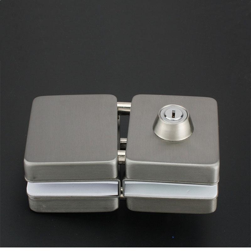 RONGYAO-Glass Door Locks No Drilling | High Quality Tempered Door Locks-4