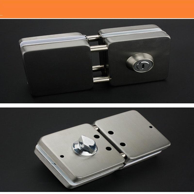 RONGYAO-Glass Door Locks No Drilling | High Quality Tempered Door Locks-5