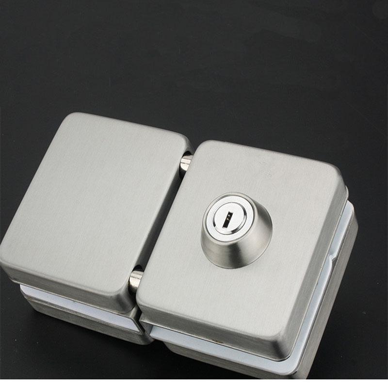 RONGYAO-Glass Door Locks No Drilling | High Quality Tempered Door Locks-6