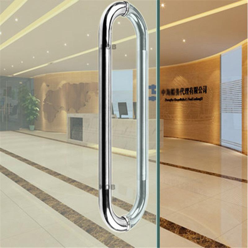 RONGYAO-Best Sliding Glass Door Bathroom Glass Door Handle Stainless-13
