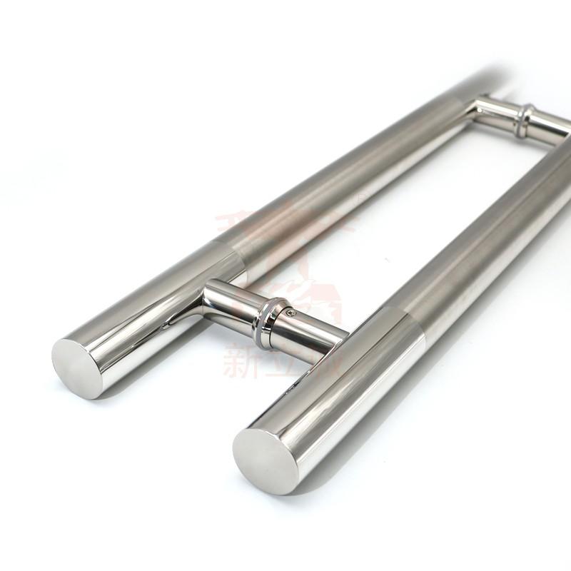 RONGYAO-6068 H Handle Stainless Steel Glass Door Wooden Door Handle-3
