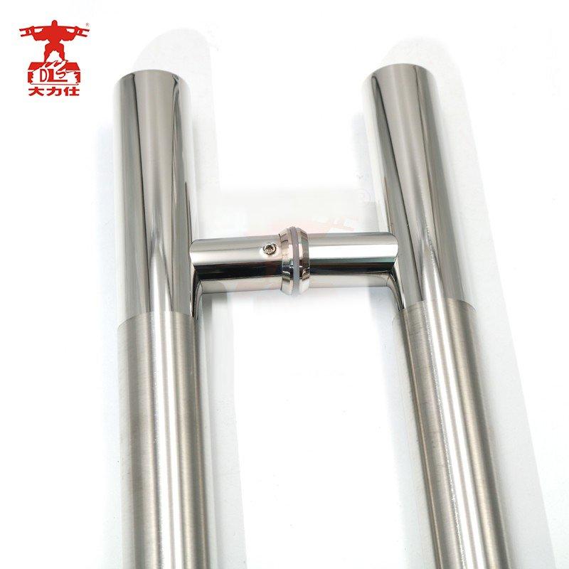 RONGYAO-6068 H Handle Stainless Steel Glass Door Wooden Door Handle-6