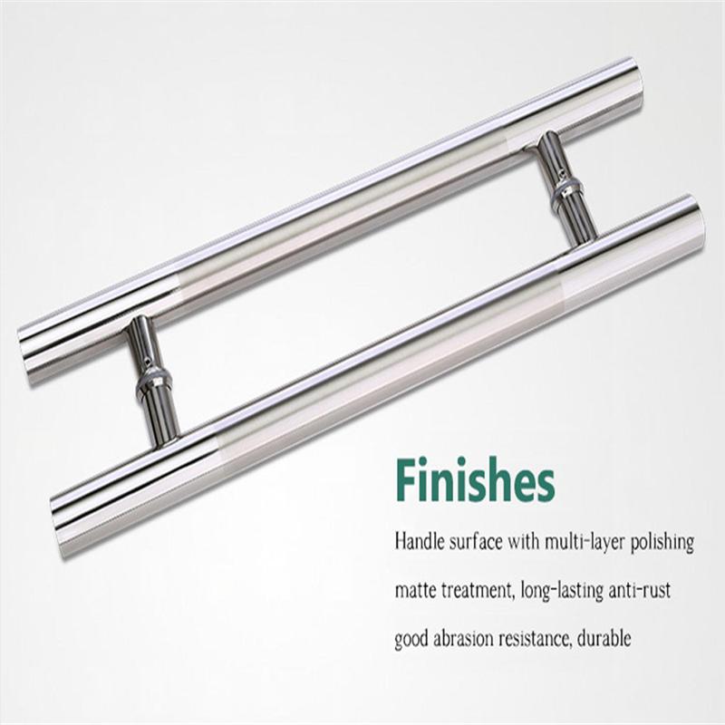 RONGYAO-6068 H Handle Stainless Steel Glass Door Wooden Door Handle-15
