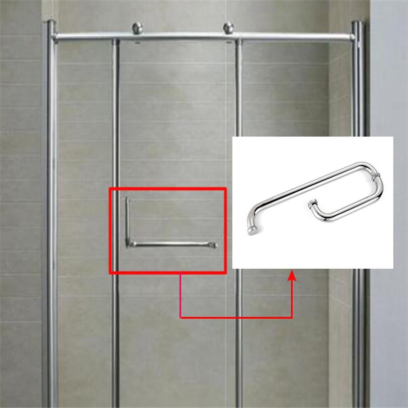 RONGYAO-Professional Adjustable Glass Door Handles Stainless Steel-6