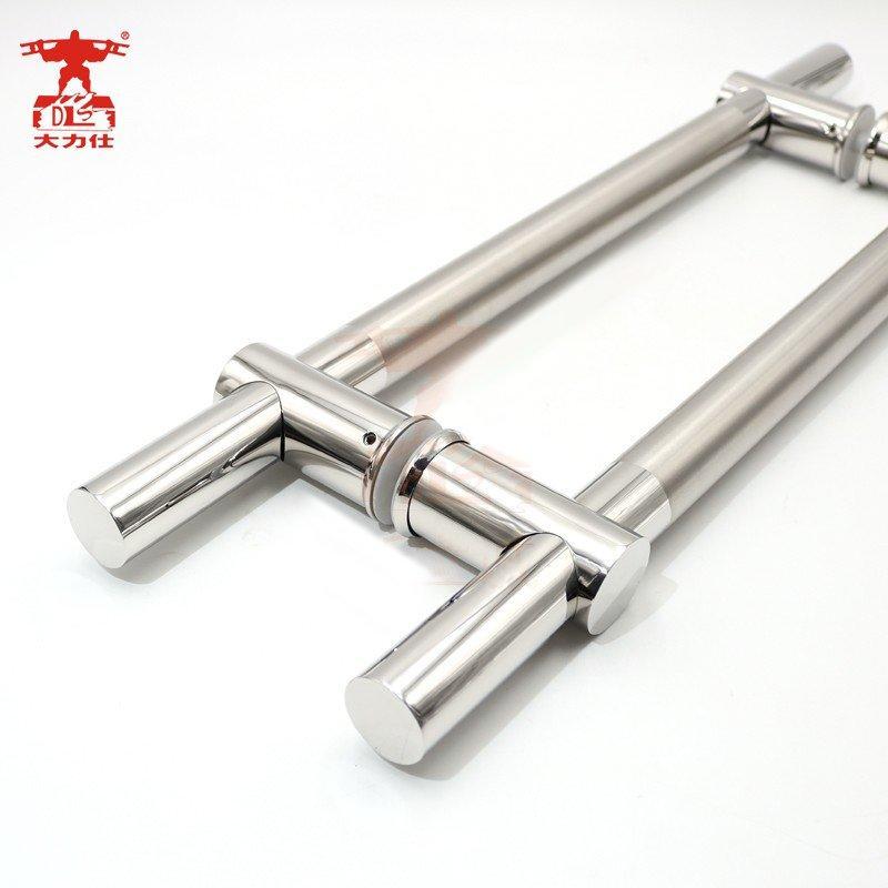 Stainless steel handle glass door handle sliding door handle 6074