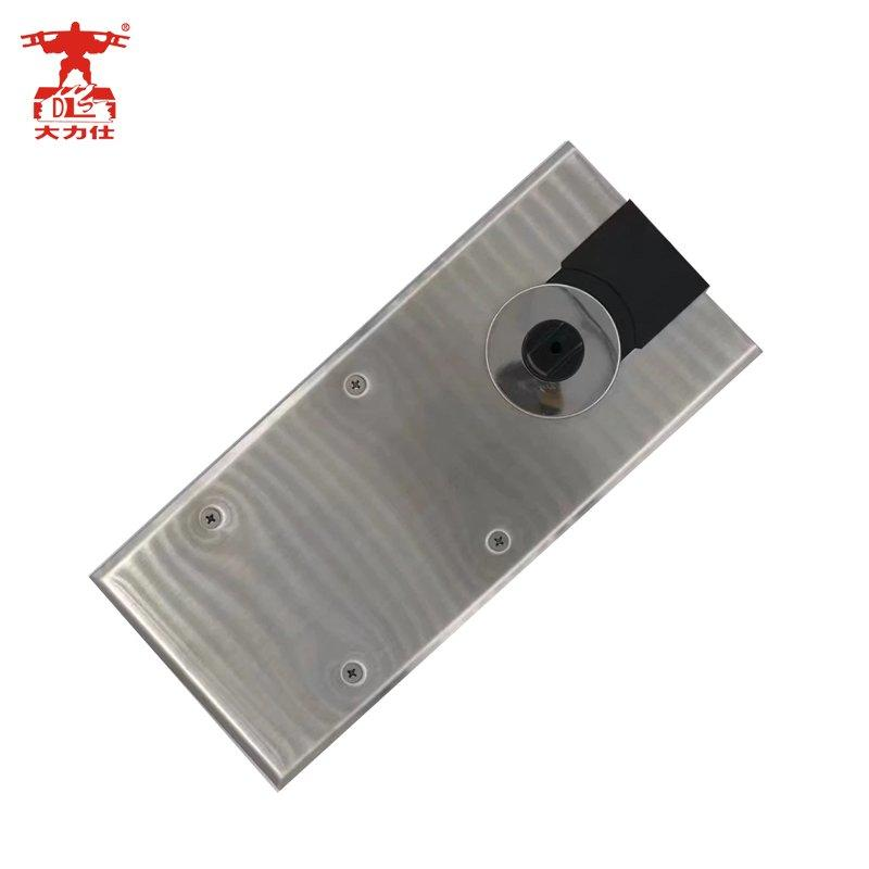 Good quality glass door closer adjust floor spring D-33