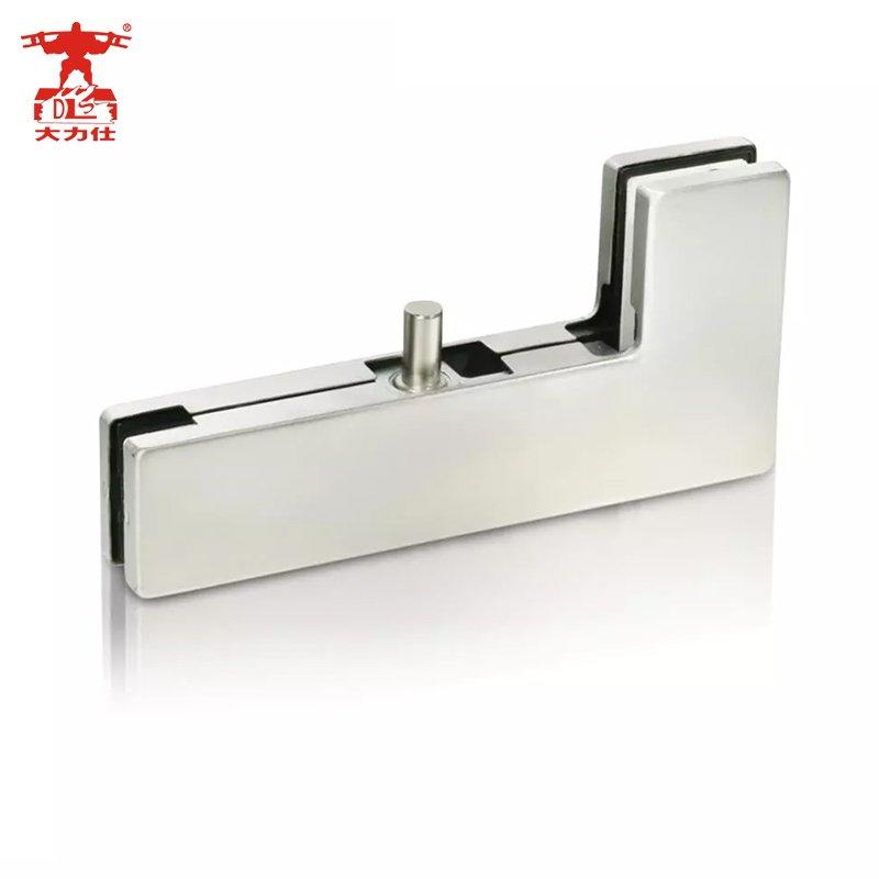 L Shape Glass Door Clamps Patch Fittings